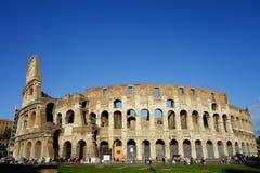 Πρωινή πανοραμική άποψη της Ρώμης Colosseum Στοκ εικόνες με δικαίωμα ελεύθερης χρήσης