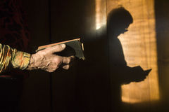 πρωινή προσευχή γιαγιάδων Στοκ Εικόνες