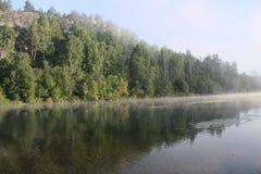 πρωινή υδρονέφωση Στοκ φωτογραφία με δικαίωμα ελεύθερης χρήσης
