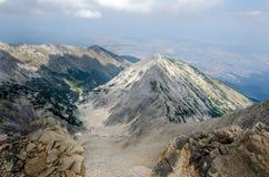 Πρωινό πανόραμα του βουνού Pirin, Βουλγαρία Στοκ Εικόνα