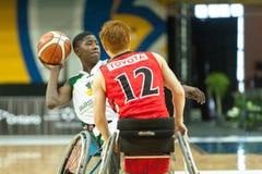 Πρωτάθλημα καλαθοσφαίρισης παγκόσμιων αναπηρικών καρεκλών Στοκ φωτογραφίες με δικαίωμα ελεύθερης χρήσης