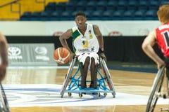 Πρωτάθλημα καλαθοσφαίρισης παγκόσμιων αναπηρικών καρεκλών Στοκ εικόνα με δικαίωμα ελεύθερης χρήσης