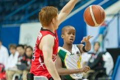 Πρωτάθλημα καλαθοσφαίρισης παγκόσμιων αναπηρικών καρεκλών Στοκ Φωτογραφίες