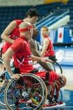 Πρωτάθλημα καλαθοσφαίρισης παγκόσμιων αναπηρικών καρεκλών Στοκ Εικόνες
