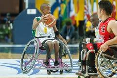 Πρωτάθλημα καλαθοσφαίρισης παγκόσμιων αναπηρικών καρεκλών Στοκ φωτογραφία με δικαίωμα ελεύθερης χρήσης
