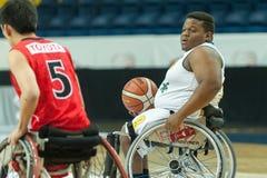 Πρωτάθλημα καλαθοσφαίρισης παγκόσμιων αναπηρικών καρεκλών Στοκ Φωτογραφία