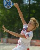 Πρωτάθλημα 2014 παγκόσμιας ομάδας αντισφαίρισης παραλιών Στοκ εικόνα με δικαίωμα ελεύθερης χρήσης
