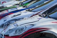 Πρωτάθλημα παγκόσμιου Rallycross FIA της Βαρκελώνης Στοκ φωτογραφίες με δικαίωμα ελεύθερης χρήσης