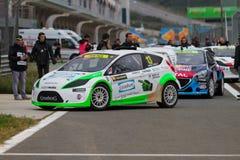 Πρωτάθλημα παγκόσμιου Rallycross FIA Στοκ Φωτογραφίες