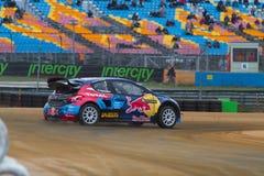 Πρωτάθλημα παγκόσμιου Rallycross FIA Στοκ φωτογραφίες με δικαίωμα ελεύθερης χρήσης