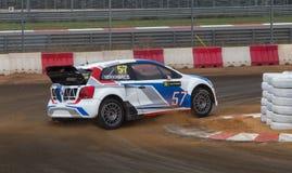 Πρωτάθλημα παγκόσμιου Rallycross FIA Στοκ εικόνα με δικαίωμα ελεύθερης χρήσης