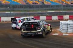 Πρωτάθλημα παγκόσμιου Rallycross FIA Στοκ Εικόνες