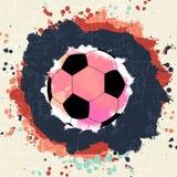 Πρωτάθλημα ποδοσφαίρου Στοκ Φωτογραφία