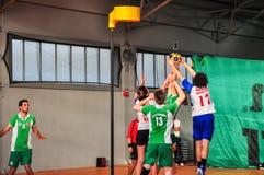 Πρωτάθλημα Korfball Antalya - Τουρκία Στοκ Φωτογραφία