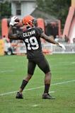 Πρωτάρης WR Cleveland Browns του Corey Coleman #19 Στοκ Εικόνες