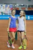 Πρωταθλήματα αντισφαίρισης για τα βραβεία της Elena Vesnina Στοκ εικόνες με δικαίωμα ελεύθερης χρήσης