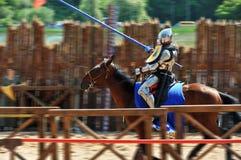 πρωταθλήματα ιπποτών Στοκ Φωτογραφίες
