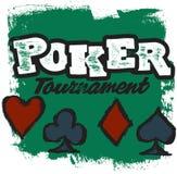 πρωταθλήματα πόκερ Στοκ Φωτογραφία