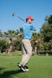 Πρωταθλήματα γκολφ στο Κόστα ντελ Σολ, Μάλαγα, Ισπανία στοκ εικόνα με δικαίωμα ελεύθερης χρήσης