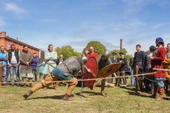 Πρωταθλήματα ιπποτών στα ξίφη Στοκ Εικόνες