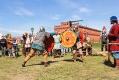 Πρωταθλήματα ιπποτών στα ξίφη Στοκ φωτογραφία με δικαίωμα ελεύθερης χρήσης
