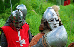 Πρωταθλήματα ιπποτών στον τομέα Στοκ φωτογραφίες με δικαίωμα ελεύθερης χρήσης