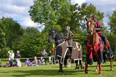 2 πρωταθλήματα ιπποτών Στοκ φωτογραφία με δικαίωμα ελεύθερης χρήσης