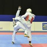 Πρωταθλήματα Taekwondo wtf Στοκ φωτογραφία με δικαίωμα ελεύθερης χρήσης