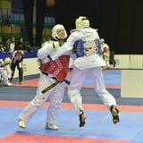 Πρωταθλήματα Taekwondo wtf Στοκ φωτογραφίες με δικαίωμα ελεύθερης χρήσης