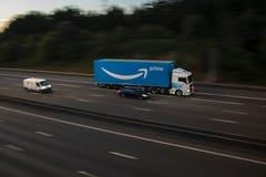 Πρωταρχικό φορτηγό του Αμαζονίου Στοκ Εικόνες