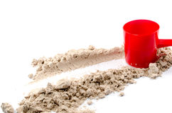 Πρωτεϊνική σκόνη ορρού γάλακτος Στοκ Εικόνες