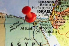 Πρωτεύουσα του Καίρου της Αιγύπτου Στοκ εικόνες με δικαίωμα ελεύθερης χρήσης