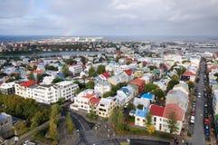 Πρωτεύουσα του ΡΕΙΚΙΑΒΙΚ της Ισλανδίας Στοκ φωτογραφίες με δικαίωμα ελεύθερης χρήσης
