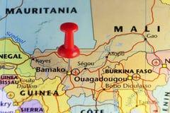 Πρωτεύουσα Bamako του Μαλί απεικόνιση αποθεμάτων
