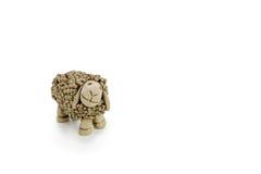 Πρόβατα αργίλου Στοκ φωτογραφία με δικαίωμα ελεύθερης χρήσης