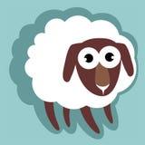 Πρόβατα κινούμενων σχεδίων Στοκ Εικόνες