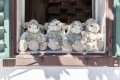 Πρόβατα παιχνιδιών Στοκ εικόνα με δικαίωμα ελεύθερης χρήσης