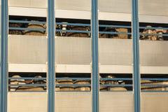 Πρόβατα σε ένα φορτηγό μεταφορών, ζωικό κεφάλαιο στοκ φωτογραφίες