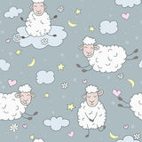 Πρόβατα στα σύννεφα Στοκ φωτογραφίες με δικαίωμα ελεύθερης χρήσης