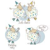 Πρόβατα χορού Στοκ Εικόνες