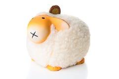 Πρόβατα Moneybox Στοκ Εικόνα