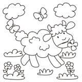 Πρόβατο-χρωματισμός Στοκ εικόνα με δικαίωμα ελεύθερης χρήσης