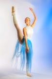 πρόβα ballerina Στοκ Εικόνες