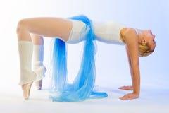 πρόβα ballerina Στοκ φωτογραφίες με δικαίωμα ελεύθερης χρήσης
