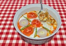 Πρόβειο κρέας γιαουρτιού Στοκ φωτογραφία με δικαίωμα ελεύθερης χρήσης