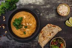 Πρόβειο κρέας Korma, ινδικό πιάτο κάρρυ Στοκ Εικόνες