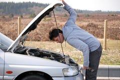 πρόβλημα αυτοκινήτων Στοκ Εικόνες