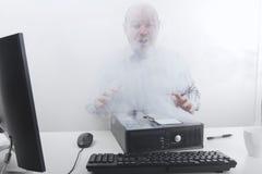 Πρόβλημα υπολογιστών Στοκ φωτογραφίες με δικαίωμα ελεύθερης χρήσης