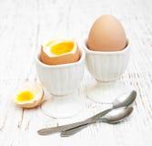 Πρόγευμα με τα αυγά Στοκ Εικόνες