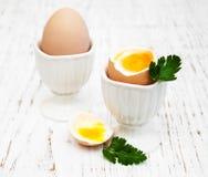 Πρόγευμα με τα αυγά Στοκ Φωτογραφία